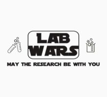 Lab Wars (black) Kids Clothes