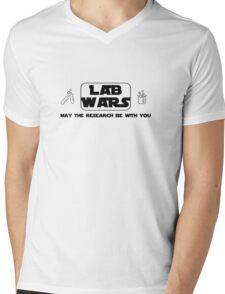 Lab Wars (black) Mens V-Neck T-Shirt