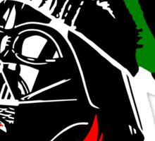 Dub Vader (red-green) Sticker