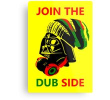 Dub Vader (red-green) Metal Print