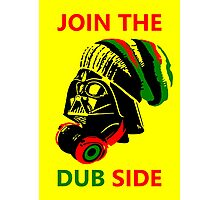 Dub Vader (red-green) Photographic Print