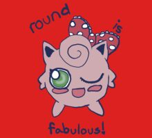 """Round is Fabulous"" Jigglypuff Shirt by makerevenge"