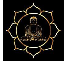 Gold Buddha Photographic Print
