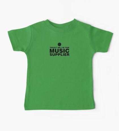 Music supplier (black) Baby Tee