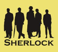 Sherlock Silhouettes  Kids Clothes
