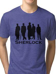 Sherlock Silhouettes  Tri-blend T-Shirt