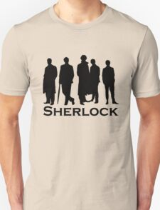 Sherlock Silhouettes  T-Shirt