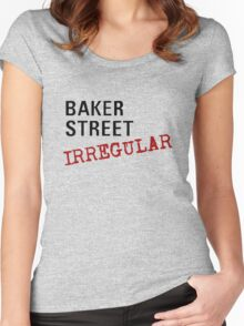 Baker Street Irregular Women's Fitted Scoop T-Shirt