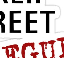 Baker Street Irregular Sticker