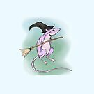 Mouse Witch: Hallowe'en Themes by Fiona Lokot