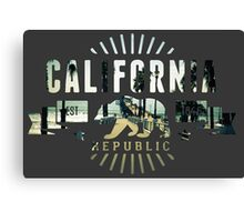 California pier Canvas Print