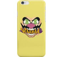 "Wario ""WAAHAA!"" Digital Paint iPhone Case/Skin"