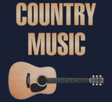 Wonderful Country Music Kids Tee