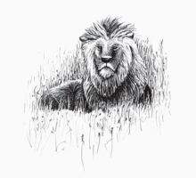 The Proud Lion – a symbol of brotherhood, strength & courage Kids Clothes