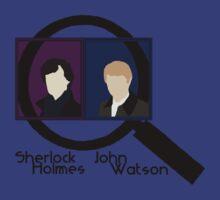 Sherlock Holmes and John Watson by Anglofile