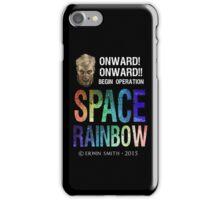 Begin Operation SPACE RAINBOW iPhone Case/Skin