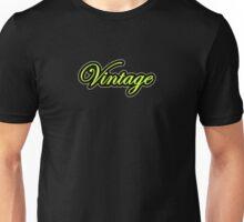 Vintage green black Unisex T-Shirt