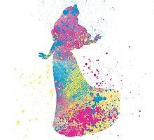 Watercolour Aurora by BlueCordial