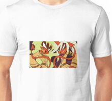 Scanty and Kneesocks Glare - Panty and Stocking with Garterbelt Unisex T-Shirt