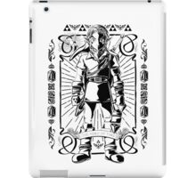 Vintage Link the Hero of TIme iPad Case/Skin