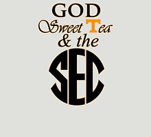 Tennessee: God, Sweet Tea & the SEC Womens Fitted T-Shirt