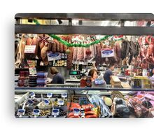 Meat Selection Metal Print