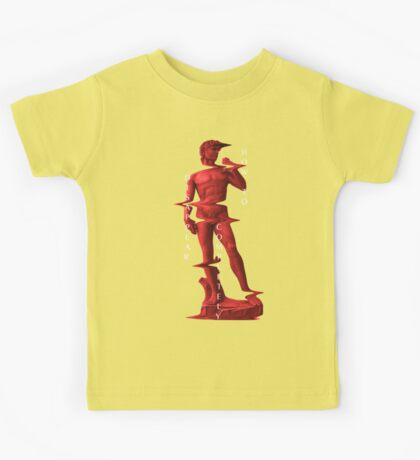 How to Disappear Completely// David (Michelangelo) Kids Tee