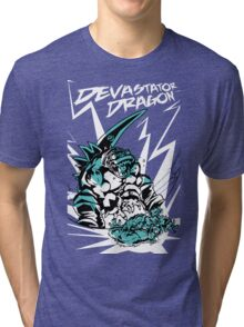 Devastator Dragon - Finisher Ver. 2 Tri-blend T-Shirt