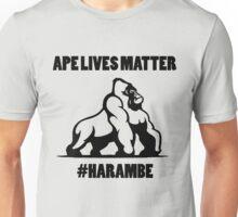 Ape lives matter Unisex T-Shirt