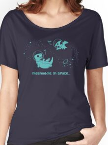 Meanwhile, In Space... Women's Relaxed Fit T-Shirt