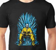 """Walter White """"Iron"""" Throne Unisex T-Shirt"""