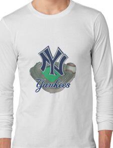 New York Yankees NY Long Sleeve T-Shirt