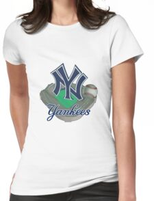 New York Yankees NY Womens Fitted T-Shirt