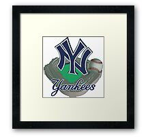 New York Yankees NY Framed Print