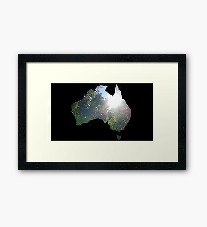 Australian Environment  Framed Print