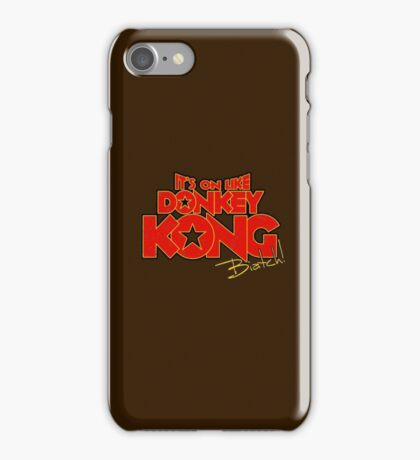 It's on! -text only- iPhone Case/Skin
