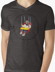 Death Grips Swing Mens V-Neck T-Shirt