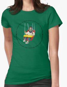 Death Grips Swing Womens Fitted T-Shirt
