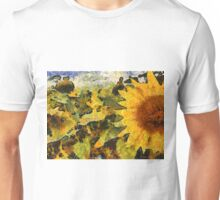 VG style sunflower  Unisex T-Shirt