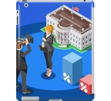 Election News White House USA Infographic iPad Case/Skin