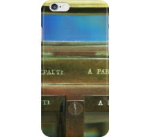 A fresnel From Paris iPhone Case/Skin