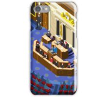 Election Infographic Parliament Hall iPhone Case/Skin