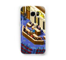 Election Infographic Parliament Hall Samsung Galaxy Case/Skin