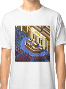 Election Infographic Parliament Hall Classic T-Shirt