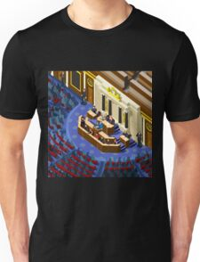Election Infographic Parliament Hall Unisex T-Shirt
