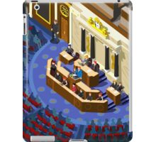 Election Infographic Parliament Hall iPad Case/Skin