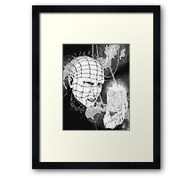 Original Pinhead Hellraiser Horror Design Framed Print