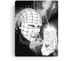 Original Pinhead Hellraiser Horror Design Canvas Print