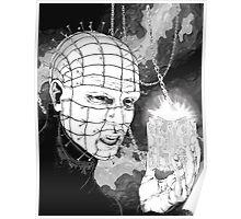 Original Pinhead Hellraiser Horror Design Poster