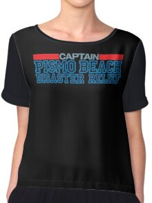 Clueless - Captain of the Pismo Beach Disaster Relief Chiffon Top